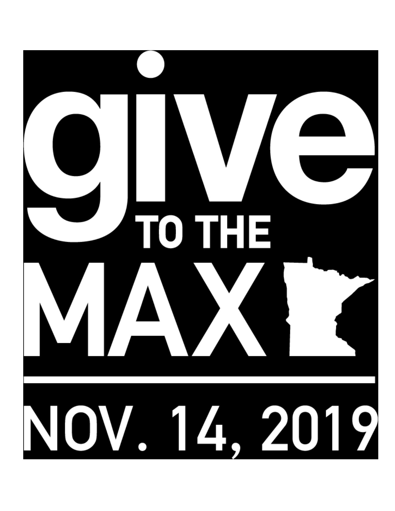 Give to the Max day is November 14, 2019